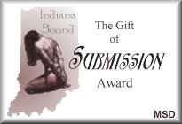 Indiana Bound: Gift Of Submission Award: Linked To Their Web Site